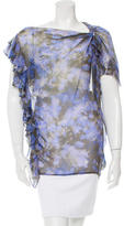 3.1 Phillip Lim Silk Printed Blouse