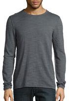 John Varvatos Solid Crewneck Sweater