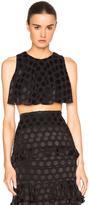 Cushnie et Ochs Silk Dot Skirt