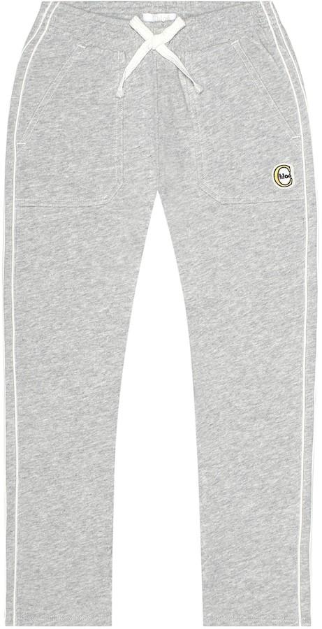 Chloé Kids Cotton-blend trackpants