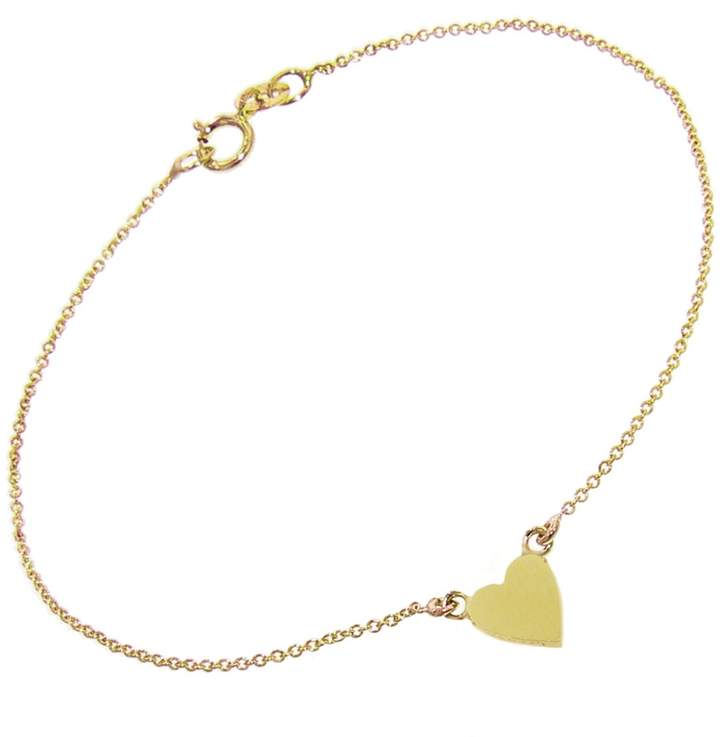 Jennifer Meyer Heart Bracelet - Yellow Gold