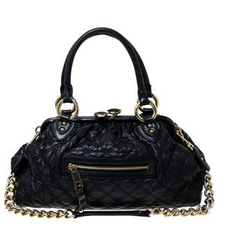 Marc Jacobs Stam Black Leather Handbags