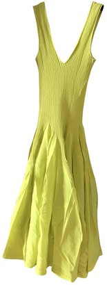 Maison Rabih Kayrouz Yellow Cotton Dresses