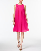 INC International Concepts Pleated Trapeze Dress, Created for Macy's