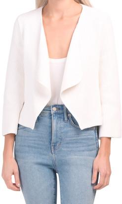 Organic Cotton V-neck Cardigan
