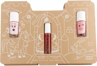 nailmatic Princess Castle Story Water-Based Nail Polish & Lip Gloss Set