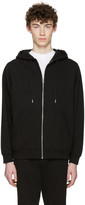 Alexander Wang Black Zip-Up Hoodie