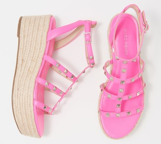 Marc Fisher Studded Platform Sandals - Jansen