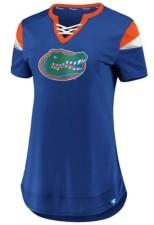 Majestic Women's Florida Gators Athena Lace-Up Shirt
