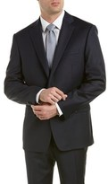 Austin Reed Classic Fit Wool-blend Suit With Flat Pant.
