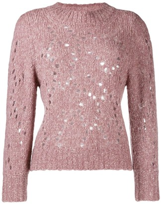 Etoile Isabel Marant Cut Out Holes Jumper