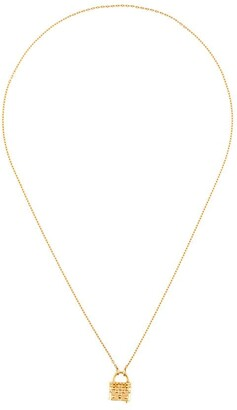 Kasun London Masochist padlock necklace