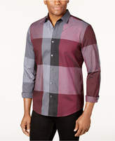 Alfani Men's Plaid Long-Sleeve Shirt, Classic Fit, Created for Macy's