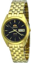 Orient #FAB0000FB Men's 3 Star Standard Gold Tone Dial Automatic Watch