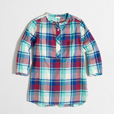 J.Crew Factory Girls' flannel tunic