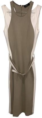 Byblos Beige Cotton Dress for Women