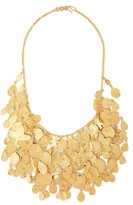 Pippa Small Turquoise Mountain - Sharifa 18kt Gold-plated Necklace - Womens - Gold