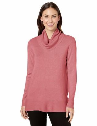 Tribal Women's Long Sleeve Cowl Neck Sweater