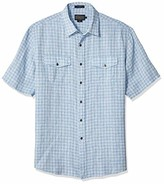 Pendleton Men's Short Sleeve Malone Linen Shirt