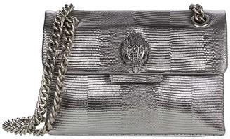 Kurt Geiger Mini Kensington Crossbody Bag (Gunmetal) Cross Body Handbags
