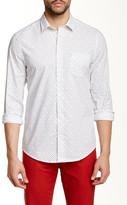 Ben Sherman Square Scatter Long Sleeve Regular Fit Shirt