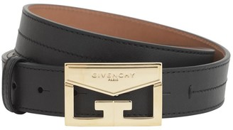 Givenchy 30MM LEATHER BELT