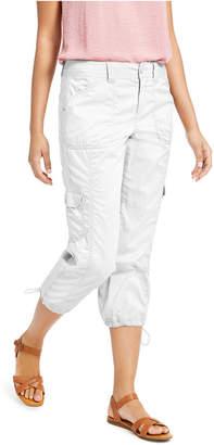 Style&Co. Style & Co Curvy-Fit Cargo Capri Pants