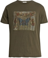 Valentino Butterfly-print cotton-jersey T-shirt