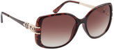Rocawear Women's R3199 Rectangle Sunglasses