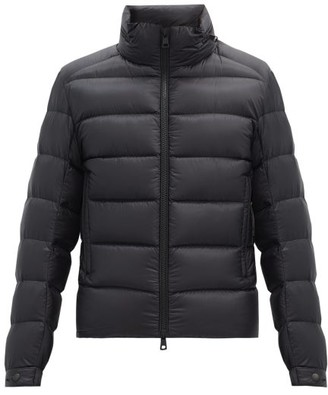Moncler Soreiller Quilted-down Hooded Jacket - Black