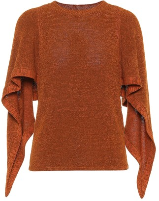 Chloé Cotton-blend sweater