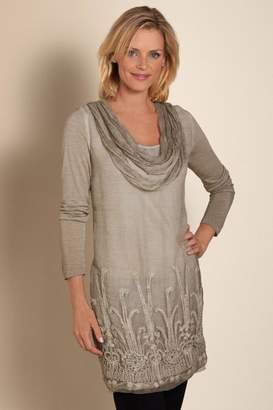 Silk Beaux Arts Tunic & Cami