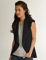 FINAL SALE Petite S/L Textured Vest