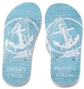 Bride's Crew Flip Flops - Small