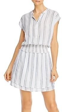 Rails Angelina Striped Smocked Dress