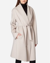 N.Peal Woven Cashmere Coat