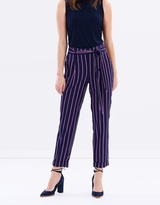 Dorothy Perkins Tailored Striped Trousers