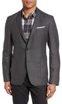 BOSS Men's Nold 9 Trim Fit Solid Wool Blazer