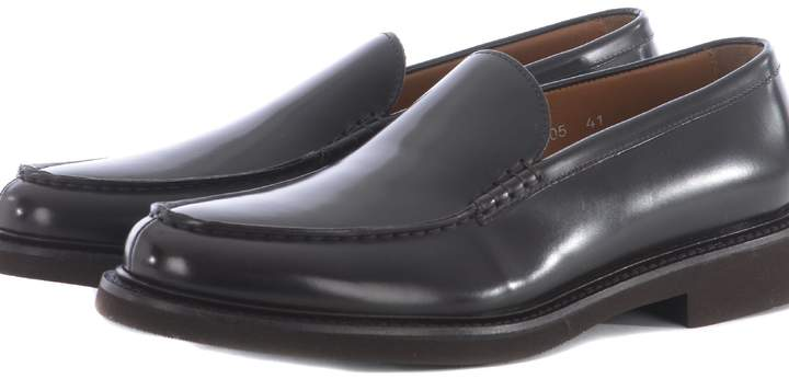 Doucal's Doucals Round Toe Loafers