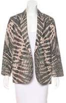 Raquel Allegra Silk Reversible Blazer w/ Tags