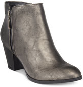 Style&Co. Style & Co. Jamila Zip Booties, Only at Macy's Women's Shoes