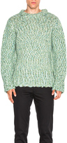 Ann Demeulemeester Chunky Knit Sweater