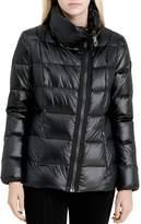 Calvin Klein Asymmetric Zip Front Down Coat