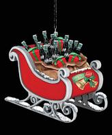 Kurt Adler Coca-Cola Sleigh Ornament