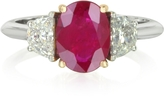 Forzieri Ruby and Diamond Gold Ring