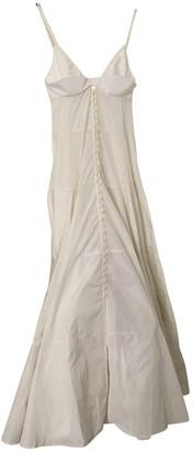 Jacquemus Le coup de soleil Beige Dress for Women