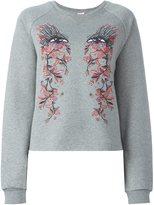 Giamba printed front sweatshirt