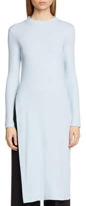 Rosetta Getty Side Slit Cotton Tunic
