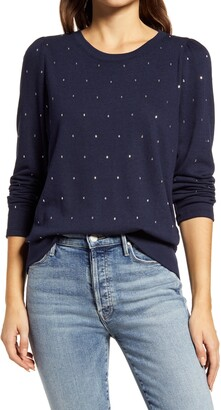 Wit & Wisdom Rhinestone Sweatshirt
