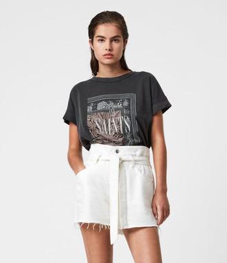 AllSaints Zebura Imogen Boy T-Shirt